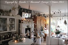 Welcome to Boxwood Cottage: White Winter & Happy New Year!