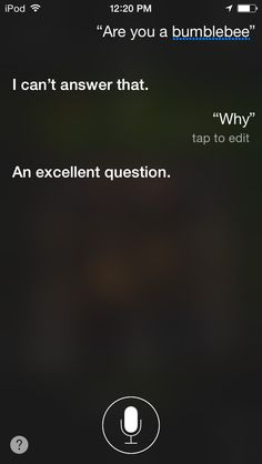 This was my convo with siri earlier