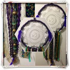 35cm Dreamcatcher #crochet