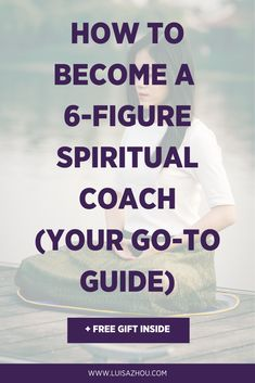 Want to become a spiritual coach? Today, you learn how to become a spiritual coach the fastest and easiest way. Read on to learn how to start your own profitable spiritual coaching business. Business Advice, Business Coaching, Online Business, Life Coach Certification, Christian Life Coaching, Coaching Skills, Life Coach Training, Spiritual Coach, Health And Wellness Coach