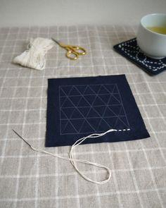 Learn Sashiko 刺し子 the Japanese style of needlework.