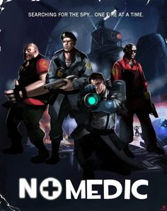 Left 4 Dead / Team Fortress 2 crossover. Oh this is too much :D too much awesome.