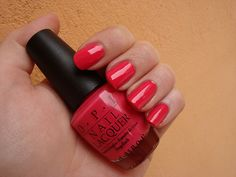 Most favorite Red Dull Size OPI Polish - New! Never opened! RARE COLOR- (Amazon has it list for $28+) FSOT