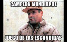 Campeón de 'las escondidas': los internautas se burlan con memes de la nueva captura de 'El Chapo' - RT