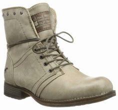 Mustang shoes taupe enkellaars 1139-160-318