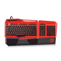 Mad Catz S.T.R.I.K.E. 3 Gaming Keyboard for PC $103.76