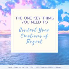 Regret is a surprisingly helpful emotion. It helps you control your emotions and process what happened in the past. But, here's how to heal it (cause it does hurt! Motivational Blogs, Inspirational Blogs, Mental Health Blogs, Health Tips, Depression Remedies, Radical Acceptance, Anxiety Remedies, Make You Believe, Abuse Survivor