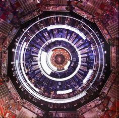 Mapping sur l'accélérateur de particules du CERN