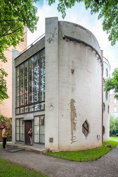 Melnikov Residence (1929), Moscow / architect Konstantin Melnikov