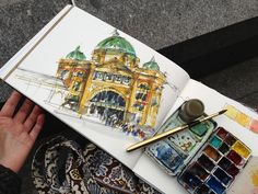 Travel Sketching In Melbourne!