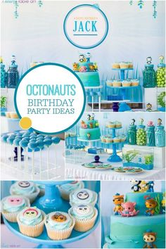A Boy's Octonauts Inspired 3rd Birthday Party - Spaceships and Laser Beams