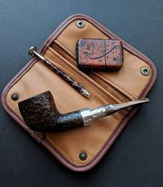 Peterson B23 pipe, with friends.