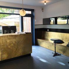 The Pelican Studio Amsterdam. Love the brass. #interior #retail #brass #inspiration #material #design #shopinterior #Amsterdam #mtbams