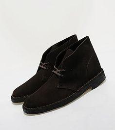 Clarks Original Black Suede Desert Boot