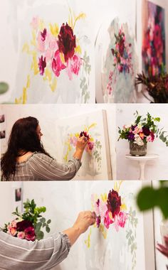 Heidi Shedlock paints flowers and focuses on everything she finds beautiful. South African Artists, Online Art Gallery, Flowers, Painting, Beautiful, Painting Art, Paintings, Royal Icing Flowers, Painted Canvas