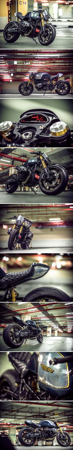 BMW R nine T custom by Onehandmade