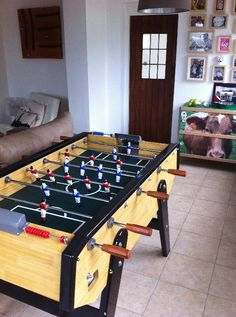 Champion Pro Table Football in Lou and Thierry's home