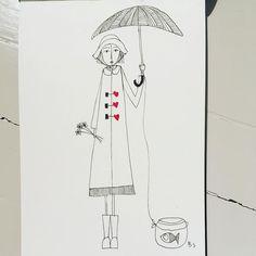 No rain, no flowers  #illustration #illustrator #illustrations #illustrationoftheday #myart #instaart #sketchbook #sketch #sketching #illustrationartist#tegning#artwork#graphic#doodle#artgallery #instaillustration #gallery#modernart #galleri#drawing#pen#pencil #paper #art#contemporaryart #pendrawing#artsy#illustrationart