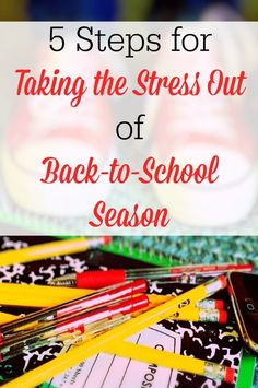 Back-to-school season doesn't have to be overwhelming! Check out these steps for taking the stress out of…