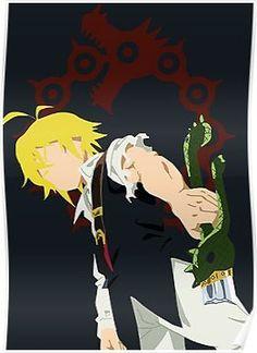Anime the seven deadly sins(nanatsu no taizai). Seven Deadly Sins Anime, 7 Deadly Sins, Manga Anime, Otaku Anime, Anime Art, I Love Anime, Me Me Me Anime, Seven Deady Sins, 7 Sins