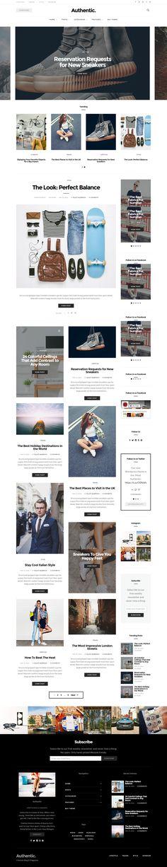 Magazine Stand, Web Design, Video Background, Premium Wordpress Themes, Lifestyle Blog, Mobile Ui, Minimalist, Template, Poses