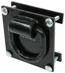 Buyers Products 5 8 Forged D Ring With 4 Hole Integral Mounting Bracket Buyers Products Tie Down An Mounting Brackets Bracket Forging