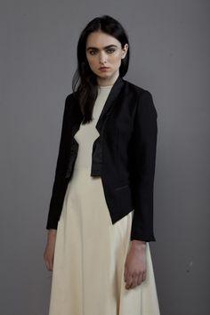 Full circle dress tux jacket at Olivia Danielle Circle Dress, Ss16, Product Launch, Magazine, Jackets, Shopping, Image, Dresses, Style