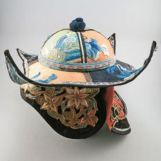 Chinese Antique Embroidered Silk Hat Chinese by OldTextiles, £168.90