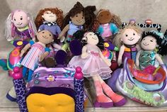 Groovy Girls Lot Car Bed Jets Skis Dolls Fast Shipping!    eBay