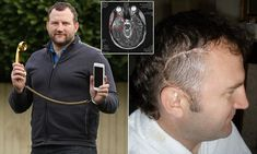 Business executive who claimed spending six hours a day on his mobile gave him brain cancer dies aged 44  k