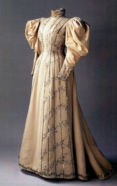 1890 Visiting Dress Belonged to Empress Alexandra Feodorovna