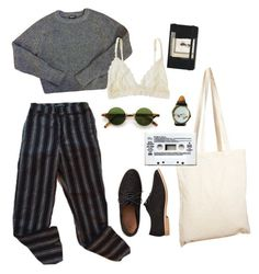 """""""classy old"""" by julietteisinthe80s on Polyvore featuring Borders&Frontiers, Veras, American Apparel, Gap, Lonely and Moleskine"""