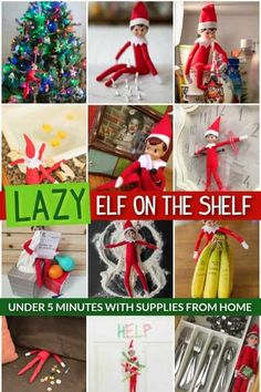 Quick and easy, every mom needs this resourceful list of 24 Lazy Elf on the Shelf Ideas. Includes a list of Elf on the Shelf props, Elf on a SHelf printables and more. Daily Elf on a Shelf Ideas plus elf printables. New Elf on the Shelf ideas daily plus free Elf on the Shelf printables to create quick Elf on the SHelf ideas and Easy Elf on tje Shelf ideas. #FrugalCouponLiving #ElfontheShelf #ElfontheShelfIdeas #ElfIdeas #elfprintables #ElfonaShelf Christmas Activities, Christmas Printables, Christmas Traditions, The Elf, Elf On The Shelf, Elf Games, Christmas Holidays, Christmas Crafts, Embrace The Chaos