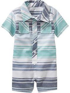 Striped Oxford One-Pieces for Baby | Old Navy