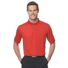 MEN'S CALLAWAY OTTOMAN POLO - a golf event essential! #optidry #technology #apparel #onetouchpoint #golf