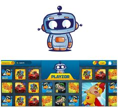 Design #49 by SilverFox Design | Boys gaming site needs YOU to create an awesome Robot Mascot!