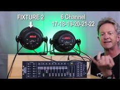 """Lighting - Basic DMX Scene Programming Practical (""""How to program DMX lights for beginners (simple lesson)"""")"""