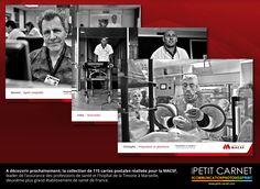 ◙ GRAPHISME & PHOTOGRAPHIE ◙  A découvrir prochainement, la collection de 115 cartes postales réalisée pour la MACSF, leader de l'assurance des professions de santé et l'hopîtal de la Timone à Marseille, deuxième plus grand établissement de santé de France.
