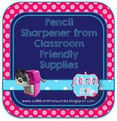 Collaboration Cuties: Our One Year Blogiversary Giveaway- $50 Amazon giftcard plus the world's best pencil sharpener (and more!)