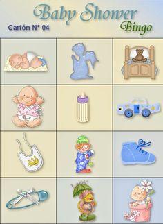 48 Ideas for baby shower nena etiquetas Loteria Para Baby Shower, Bingo Baby Shower, Juegos Baby Shower Niño, Moldes Para Baby Shower, Fiesta Baby Shower, Baby Bingo, Baby Shower Parties, Baby Shower Themes, Baby Boy Shower