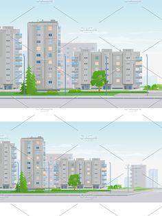 Grey Houses, Window Design, The Neighbourhood, City, Plants, Gray Houses, The Neighborhood, Cities, Plant