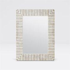 Malena Mirror design by Made Goods Luxury Home Decor, Luxury Homes, Foyer Mirror, Mirrors, Modern Mirror Design, Constantino, Made Goods, Custom Furniture, Medium