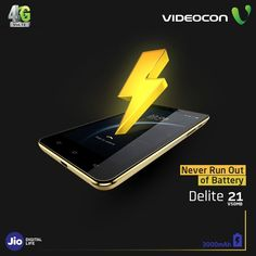 Watch cricket online on the go with the enormous battery of 3000mAh on #Videocon Delite 21. Find more: https://www.videoconmobiles.com/delite21-v50mb
