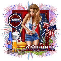 Bitzy Beez Designz: USA 4TH OF JULY KIT FREEBIE
