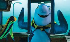 Sebastian the whale washing dolphin! Love this movie. Shark Tale, Series Movies, Tv Series, Beetlejuice, Animation Series, Stop Motion, Dreamworks, Whale, Movie Tv