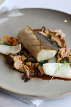Cobia & Corn - Autumn in Eleonore's Restaurant