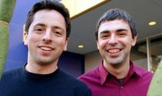 Sergey Brin and Larry Page, founders of Google