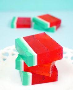 15-Minute DIY Watermelon Soap