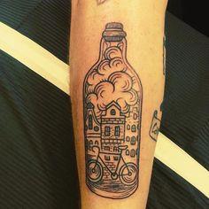 #hankypanky #tattoos #tattoo #tat2#redlightdistrict #ink #inked #amsterdam #blackandgreytattoo