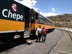 Ferrocarril Chihuahua Pacífico (Chepe) Estación Divisadero in Chihuahua